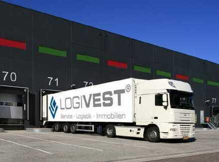 Neubau: moderner, zukunftsweisender Logistikpark