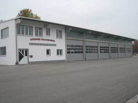 Büro Werkstatt/ Verkaufsraum mit Produktions- / Lagerhalle und großzügiger Hoffläche