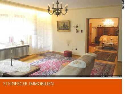 Bad Nauheim: 5 Zimmer-Wohnung mit großem Garten und einigen Nutzräumen zu verkaufen