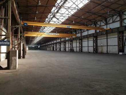 logport I - Industriehalle zur Stahllagerung