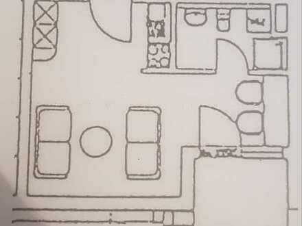 Attraktive 1-Raum-Wohnung mit Singleküche und Balkon in Albstadt
