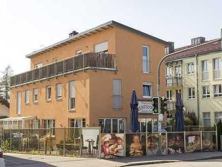 Stilvolle 2-Zimmer-DG-Wohnung mit Balkon und EBK in Gilching