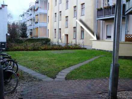 Süße 2 Raum-Wohnung mit Terrasse im Erdgeschoss mit Rollläden in De-Nord