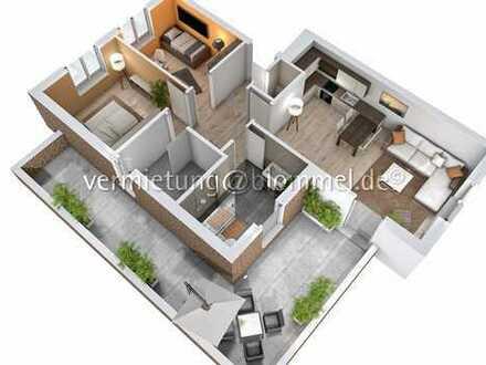 Neubau: 3-Zi-Wohnung mit XXL Balkon,Gäste-WC, HWR-Raum, Carport in Bad Bentheim Gildehaus