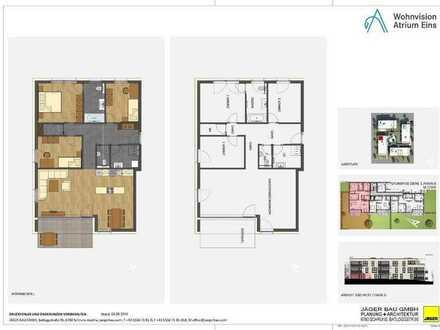 Haus D: 4 Zimmer im Erdgeschoss mit Gartenanteil