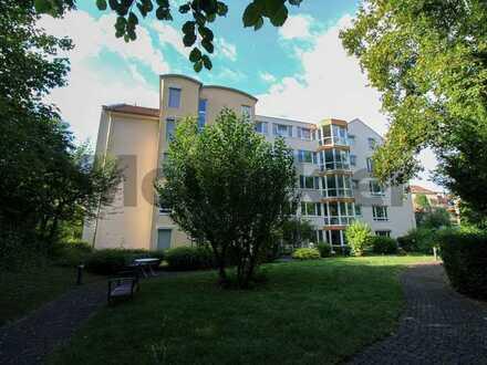 Unkompliziertes Anlageobjekt ohne Vermietungsaufwand: 2-Zi.-ETW mit Balkon in betreuter Wohnanlage