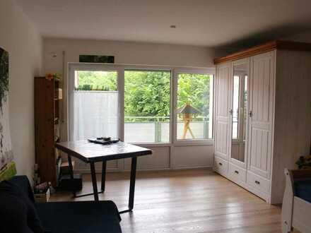 Schönes 1-Zimmer-Apartment in Traunreut mit Balkon und EBK