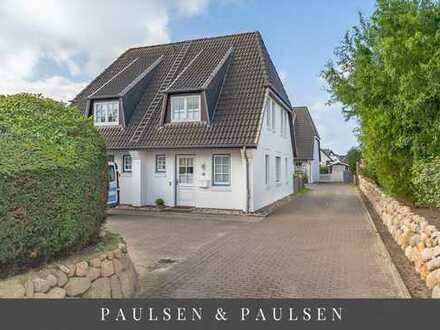 Gut geschnittene Doppelhaushälfte am Ortsrand von Westerland in Tinnum