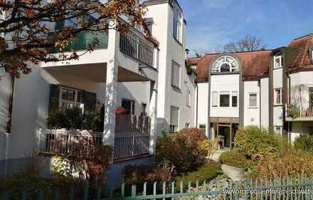 Soeben vermietet! Soeben renovierte 2-Zimmer-Gartenwohnung in grüner, ruhiger Lage von München-Solln