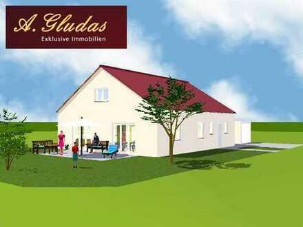 Neubau eines hochwertigen Einfamilienhauses (Bungalow) in Karlshuld!