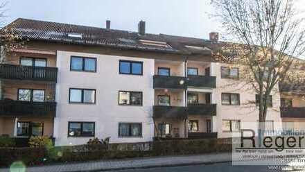 ZUHAUSE IST ES DOCH AM SCHÖNSTEN. 4-Zimmer-Eigentumswohnung im Zentrum Bayreuths, Nähe Amtsgericht!