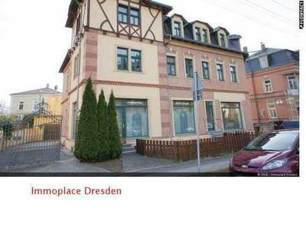 Große und helle 2-Raumwohnung im Dachgeschoss mit Laminat in Niedersedlitz!!!