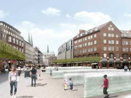 Altstadt Lübeck, 5. Stock: ungestört im letzten Stock eines Geschäftshauses: exklusiv Zimmer /Bar