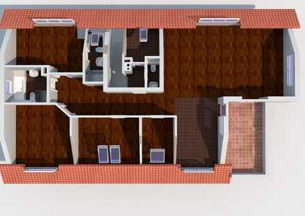 Luxuriöses und grosszügiges 4-Zimmer-Dachgeschoss in traumhafter Lage
