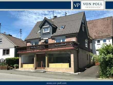 Wohn-/Geschäftshaus mit Perspektive und viel Freizeitfläche und Ausbaumöglichkeiten