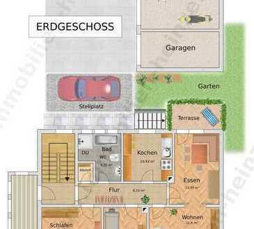 # Sofort zur Verfügung! Großzüge Wohnung mit Terrasse!