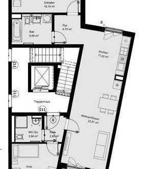 NEUBAU! Großzügige 3-ZW mit zwei Bädern, offenem Wohn-/Essbereich und Balkon!