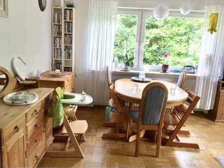 Waldnahe 3-Zimmer-EG-Wohnung mit Terrasse in Botnang