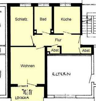 Renovierte 2-Zimmer-ETW mit Garage in Ebelsbach
