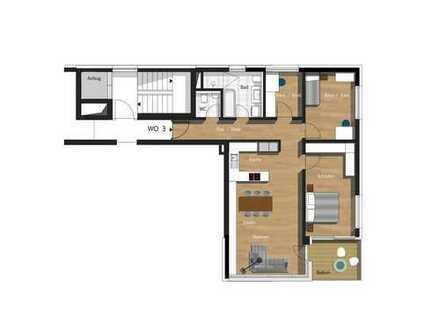 4,5-Zimmer-Wohnung inkl. TG & Außenstellplatz