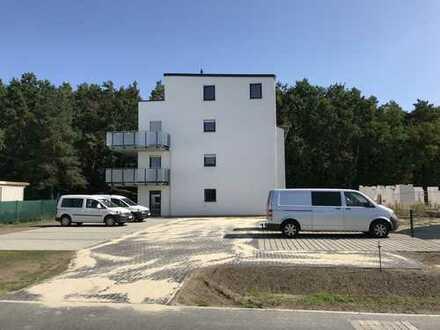Neubau-Etagenwohnung kurz vor Fertigstellung