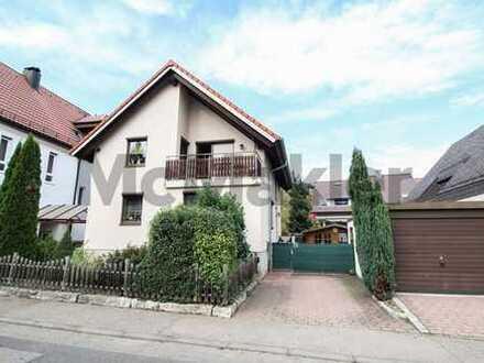 Ruhig und gut angebunden: Modernes Einfamilienhaus mit Garten und Garage in Neckargartach