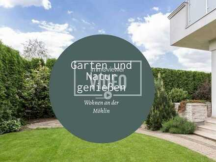 Bad Krozingen- Hausen am Ufer der Möhlin. Exklusive Neubau 2-Zimmer ETW mit Privat- Garten