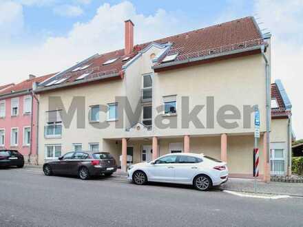Vermietete Erdgeschosswohnung mit 2 modernen, hellen Zimmern in charmanter Kleinstadt nahe Mainz