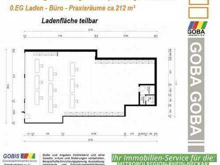 Lu Edigheim 2018 Laden-Büro-Praxisräume-Gastro - Kapitalanlage 210 m² gute Verkehrslage - nahe BASF