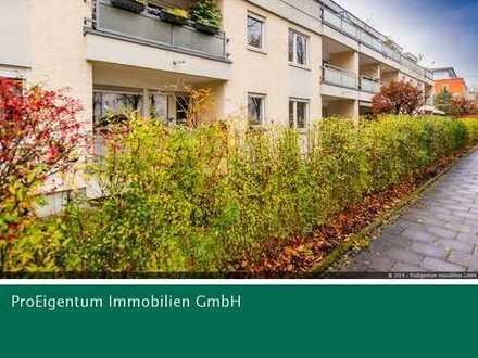 Bogenhausen: Sonnige 2-Zi-ETW im Hochparterre mit super Infrastruktur - Nahe dem Arabellapark