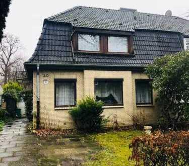 Bestes Groß-Borstel - Im Villenviertel - Doppelhaushälfte mit zuzüglich ca. 60 qm Ausbaureserve