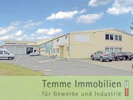 Produktions-/Lager- & Büroflächen für Eigennutzer   nahe Nbg./Erl./Fürth und B8   teilvermietet
