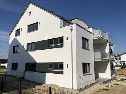 Erstbezug 6-Familienhaus: freundliche 3-Zimmer-Wohnung in Abensberg (OT Schwaighausen)