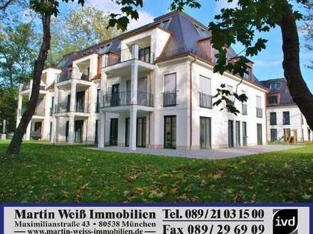Exzeptionelle 4,5-Zimmer-Townhouse-Wohnung am Isarhochufer in Harlaching/Menterschwaige