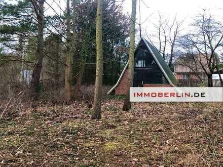 IMMOBERLIN: Berliner Speckgürtel! Großzügiges Baugrundstück bei der Spree