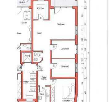 Neubau/Erstbezug: 4-Zi.-Wohnung, 1. Stock, in Rodgau/Weiskirchen