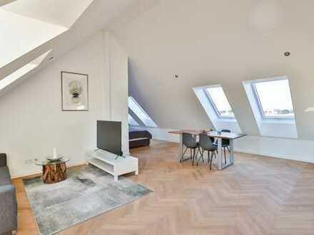Bezugsfreie 2-Zimmer-DG- Wohnung (inkl. kompletter Einrichtung)