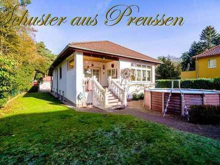 Schuster aus Preussen im Alleinauftrag - Glienicke Nord - Einfamilienhaus in absoluter Ruhiglage ...