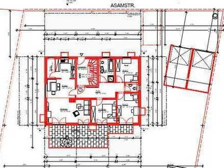 Neuwertige 4-Zimmer-Wohnung mit Balkon und Einbauküche in Benediktbeuern