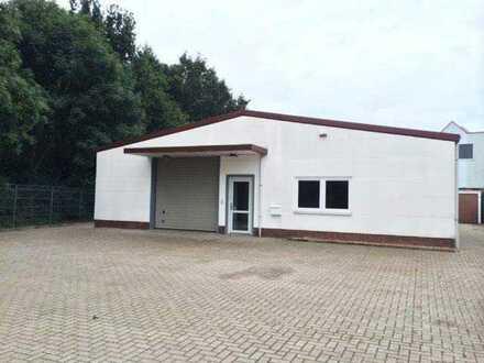 Gewerbegebiet Habenhausen 260m2 Massivhalle auf 1100m2 Grundstück