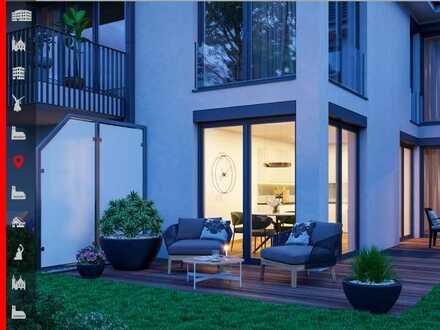 Neubau: Modernes Townhouse mit großem Garten