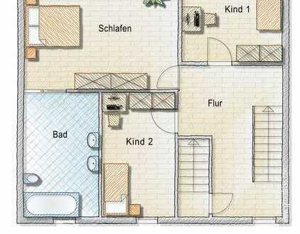 5-Zimmer Maisonettewohnung mit Dachterrasse in Kenzingen