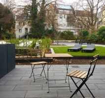 ***möbliertes Neubau-Apartment mit Terrasse im Grünen***
