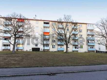 Zentral wohnen in Böblingen: Gepflegte 3-Zi.-ETW mit Südbalkon