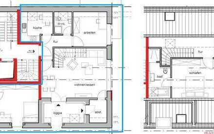 Tolle 3-Zimmer Maisonette Wohnung - Erstbezug Ortskern Lette