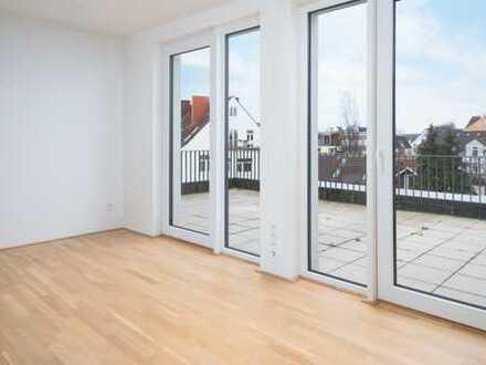 Neuwertige 2 Zimmer mit offener Küche und großem Balkon in der Neustadt!