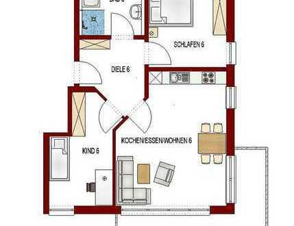 Klasse 3 Zimmerwohnung in Untermeitingen