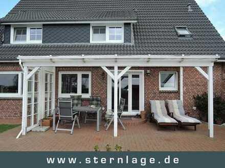 Nordstrand: Einfach einziehen, vollständig saniertes Einfamilienhaus mit Weitblick!