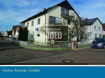 Sonnige Etagenwohnung mit Balkon, Kellerraum und Kfz-Stellplatz in Rülzheim