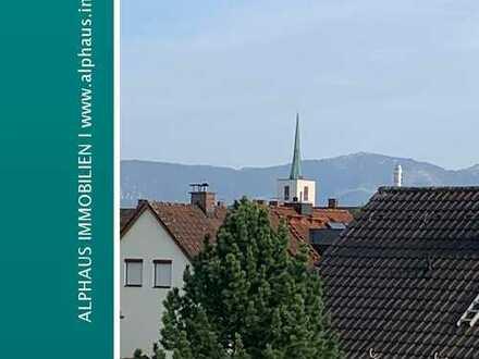 Große Wohnung mit Dachterrasse und Bergblick in ruhiger Lage - ideal auch geeignet zur Vermietung